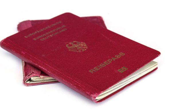 Passbild - deutscher Reisepass